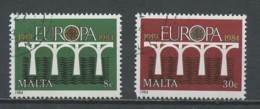 Malte - Malta 1984 Y&T N°685 à 686 - Michel N°704 à 705 (o) - EUROPA - Malta