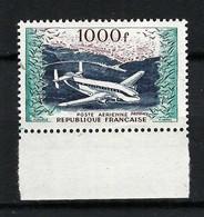 FRANCE Poste Aérienne 1954: Le Y&T 33 BDF, Neuf**, Forte Cote - 1927-1959 Postfris