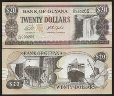 Guyana 20 Pesos (2020) Pick 30? Sign New UNC - Guyana