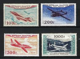 FRANCE Poste Aérienne 1954: Les Y&T 30-33, Neufs*, Forte Cote - 1927-1959 Postfris