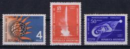 Argentina 1962 Space, International Year Of The Quiet Sun - Zonder Classificatie