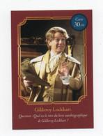 "Carte Auchan Harry Potter ""Gilderoy Lockhart N°30"" - Harry Potter"