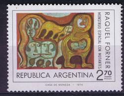 Argentina 1974 Space Monster With Mutants - Zonder Classificatie