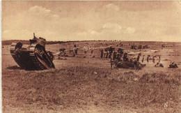 CAMP DU LARZAC  Les Tanks En Action  RV - La Cavalerie