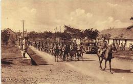 CAMP DU LARZAC  Arrivée De L' Infanterie  RV - La Cavalerie
