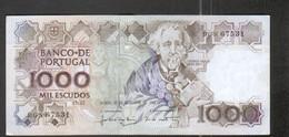 Portugal, Billet De 1000 Escudos De 1988 - Portugal