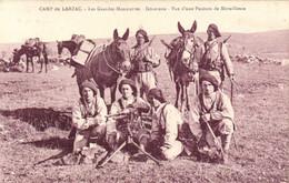 CAMP DU LARZAC Les Grandes Manoeuvres Infanterie Vue D'une Position De Mitrailleuses  RV - La Cavalerie