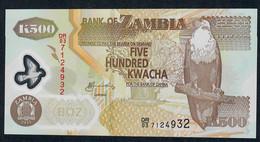 ZAMBIA  P43h   500  KWACHA   2011 #DR/03       UNC. - Zambia