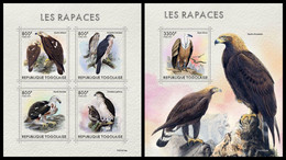 TOGO 2021 - Birds Of Prey, M/S + S/S. Official Issue [TG210319] - Ohne Zuordnung