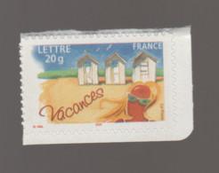 FRANCE / 2005 / Y&T N° 3788 ** Ou AA 53 ** : Vacances (Cabines De Plage) TVP LP X 1 CdC Sup G - KlebeBriefmarken
