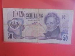 AUTRICHE 50 SCHILLING 1970 Circuler (B.24) - Austria