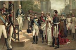 Napoleon 1er Et La Reine De Prusse à Tilsit RV - Peintures & Tableaux