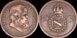 Brésil - 1873 - 40 Reis - Pedro II - L011(RDE) - Other - America