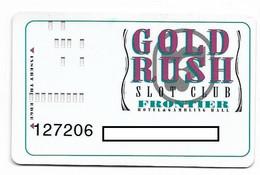 Frontier Casino, Las Vegas & Laughlin, NV, U.S.A., Older Used Slot Or Player's Card,  # Frontier-1 - Casinokarten