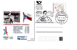 Czech Republic (19-05)  Olympic Games 1924 Czech Bronze Medal Morkovsky Gymnastic - Postcard - Ete 1924: Paris