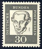 206 Bedeutende Deutsche 30 Pf Immanuel Kant ** - Sin Clasificación