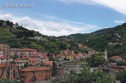 (QU505) - SERRA RICCO' (Genova) - Panorama Della Frazione Pedemonte (sede Comunale) - Genova (Genoa)