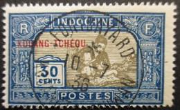 KOUANG-TCHEOU N°92 Oblitéré - Gebraucht