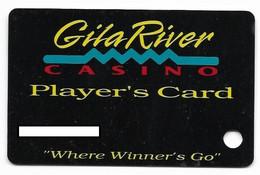 Gila River Casino, Chandler, AZ, U.S.A.,  Older Used Slot Or Players Card, # Gilariver-1a - Casinokarten