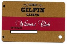 The Gilpin Casino, Black Hawk, CO, U.S.A., Older Used Slot Or Player's Card, # Gilpin-1 - Casinokarten