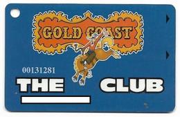 Gold Coast Casino, Las Vegas, NV, U.S.A., Older Used Slot Or Player's Card,  # Goldcoast-3 - Casinokarten