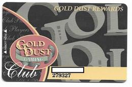 Gold Dust Casino, Deadwood, SD, U.S.A. Older Used  Slot Or Player's Card, # Golddust-1 - Casinokarten