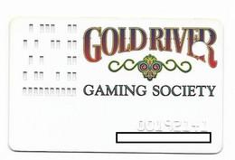 Gold River Casino, Laughlin, NV, U.S.A., Older Used Slot Or Player's Card,  # Goldriver-1 - Casinokarten