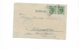 Karte Aus Tanne In Die Schweiz 1899 - Storia Postale