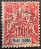 MARTINIQUE N°45 Oblitéré - Gebraucht