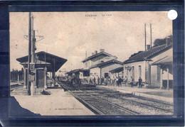 26. Livron. La Gare. Manque Important En Bas à Gauche - Altri Comuni