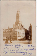 CALAIS-CARTE PHOTO DE 1902 LE BEFFROI - Calais