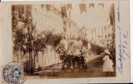 BOULOGNE SUR MER--CARTE PHOTO DE 1902 - Boulogne Sur Mer