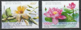 Vietnam 2008 Set Fleurs Lotus Emission Commune  Argentine Viet Nam Flowers Joint Issue Argentina - Gemeinschaftsausgaben