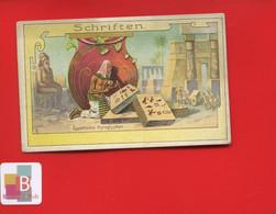Freiburger Fruchtenkaffee Freiburg Chromo Allemande Ecriture Schriften Egypte - Tee & Kaffee