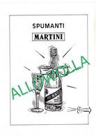 """13985"""" SPUMANTI MARTINI-PREPARAZIONI,METODI E TIPOLOGIE """" 8 FOGLI IN PVC FORMATO A4 - Unclassified"""