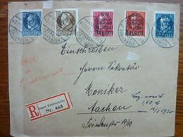 1920  GRAFENWOHR   5 Stamps - Briefe U. Dokumente