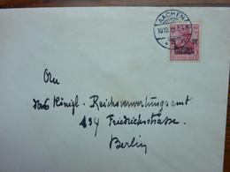 1919  AACHEN    PERFEKT - Storia Postale
