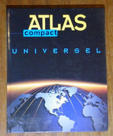 Atlas Compact Universel - 1997 - 96 Pages 30,5 X 24,2 Cm - Dictionaries