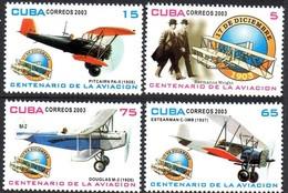 CUBA 4127/30 Avions - Flugzeuge