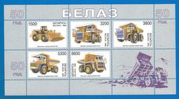 BELARUS Mini Sheet Mint Stamps MNH(**), 1998 Years BELAZ - Bielorrusia
