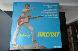Disque 33T 25 Cm - Johnny Hallyday - Viens Danser Le Twist - Philips PG 195 - Réedition 1982 - - Rock
