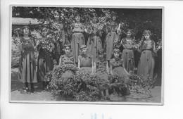 CARTE PHOTO 27. GISORS FETE DU CINQUANTENAIRE DE L ECOLE LAIQUE LES CERISES GISORS 28 JUIN 1931 ** UNIQUE ** - Gisors