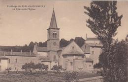 CP MONTJOYER - DROME 26 - ABBAYE D'AIGUEBELLE - LE CHEVET DE L'EGLISE - Altri Comuni