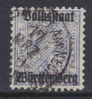 Württemberg MiNr. 264b Gest. Gepr. - Wurtemberg