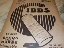 ANCIENNE PUBLICITE SE RASER DEVIENT PLAISIR GIBBS   1921 - Altri