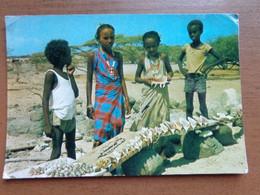 Beroep - Profession / Djibouti, Marchands De Coquillages  -> Written (corner Bid Damaged) - Other
