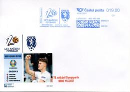 Czech Republic (21-10) UEFA EURO 2020 Soccer 120 Years Of Czech Soccer - Cover - Fußball-Europameisterschaft (UEFA)