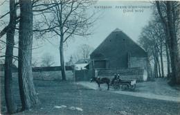 Belgique -  Waterloo - Ferme D' Hougomont ( Côté Sud ) - Attelage - Waterloo