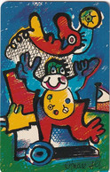 GERMANY(chip) - Painting/Otmar Alt, Chinesische Tierkreiszeichen(A 34), CN : 1212, 11/92, Mint - Zodiaco