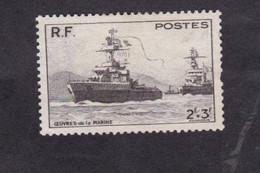 France, Charles Marzelin, Pour Les œuvres De La Marine, 2 F + 3 F, Noit, 1946 - Other